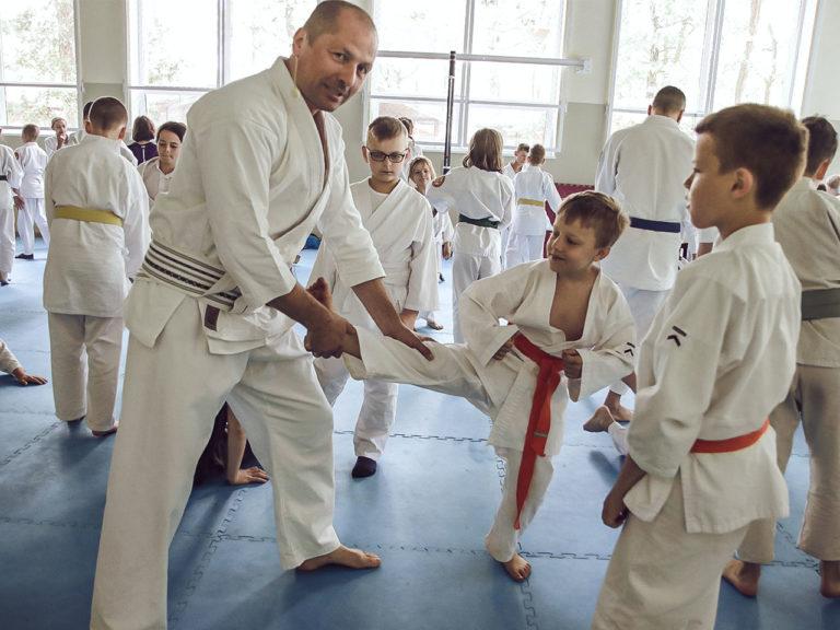 Ultimate Aiki pracuje z dziećmi